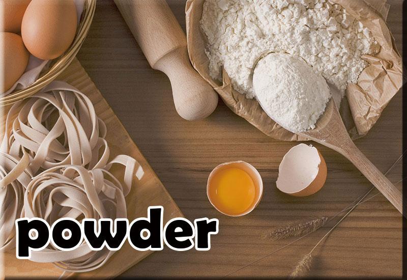 小麦粉・片栗粉・パンケーキ粉などの粉類