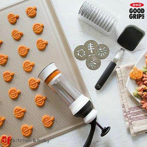 おしゃれで機能的なオクソーのクッキープレス クッキー 抜き型